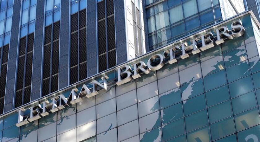Este 15 de septiembre se cumplirán 10 años de la caída de Lehman Brothers. EFE/Archivo