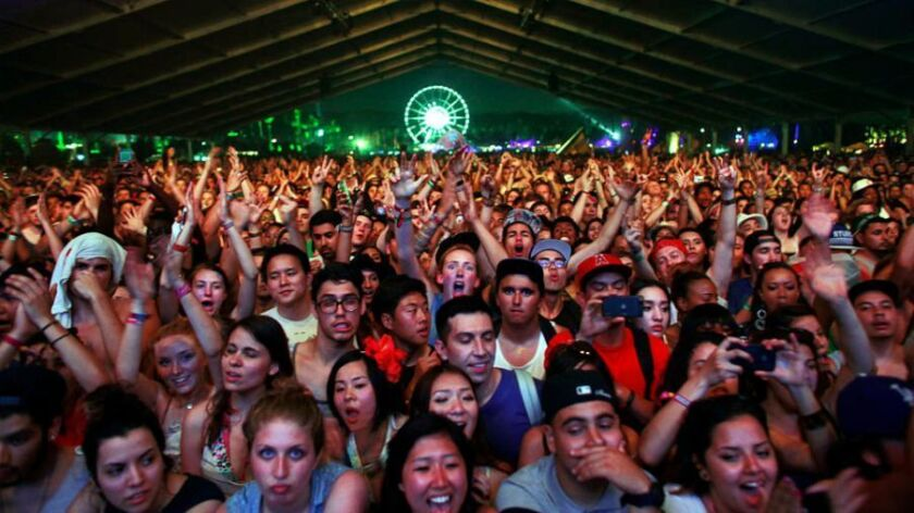 Coachella: Police using army of drones to boost security in