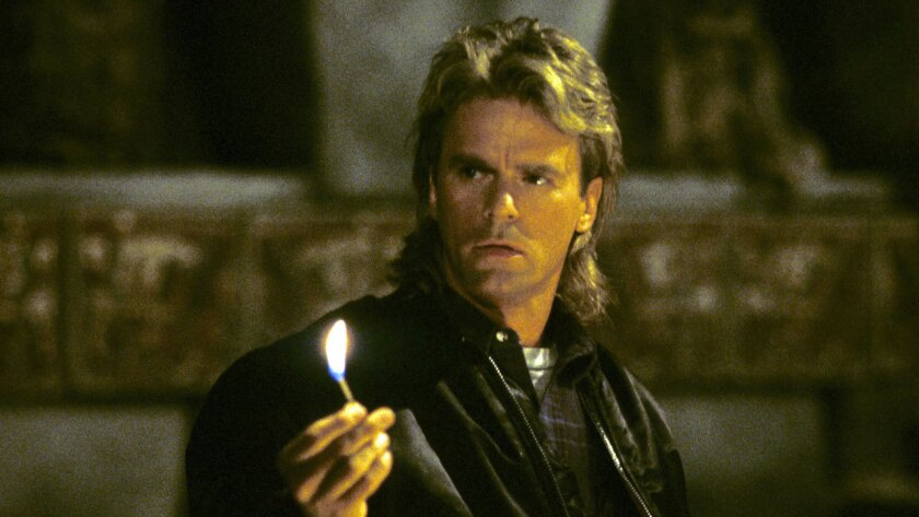 """Richard Dean Anderson played the world's most handy secret agent on """"MacGyver."""""""