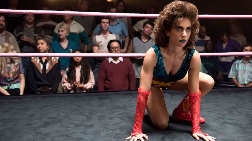 "Alison Brie as Ruth in Netflix's ""GLOW."""