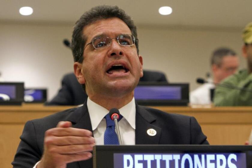 """Cámara comercio de P.Rico llama a resolver """"urgente"""" a la crisis política"""