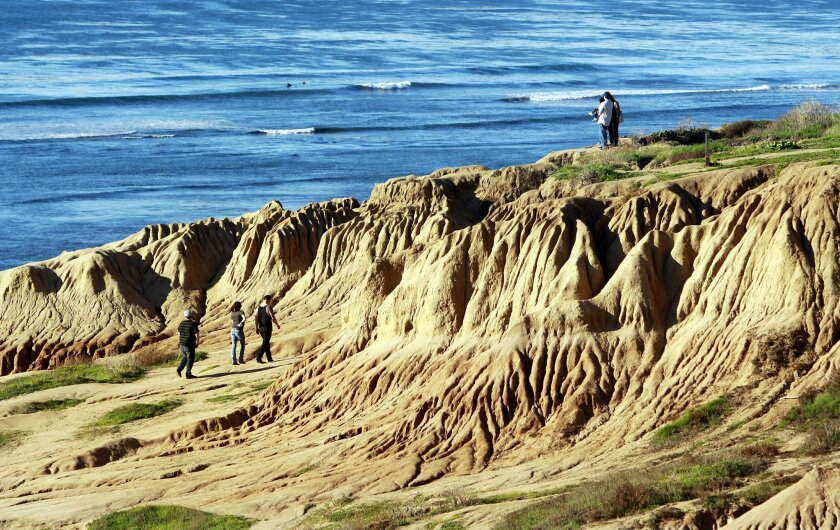 """""""Unnatural"""" erosion from storm water is carving Sunset Cliffs Natural Park and prompting efforts to control runoff."""