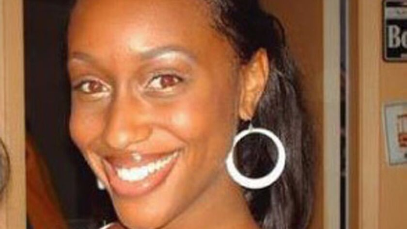 Mitrice Richardson, 24, was last seen after her release from the Malibu sheriff's station in the middle of the night in 2009. Her decomposed body was found about a year later  in a Malibu Canyon ravine, several miles from the sheriff's station.