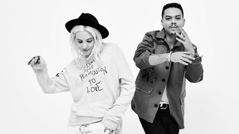 Ashlee Simpson-Ross and Evan Ross collaborated with Zadig & Voltaire on their fall/winter 2018 unisex fashion collection, Jagger Snow.