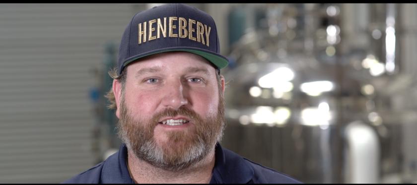 Jesse Fanning of Henebery Whiskey in Vista.