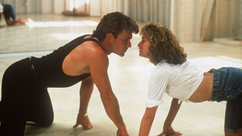 """Patrick Swayze and Jennifer Grey star in the romantic 1987 tale """"Dirty Dancing."""""""