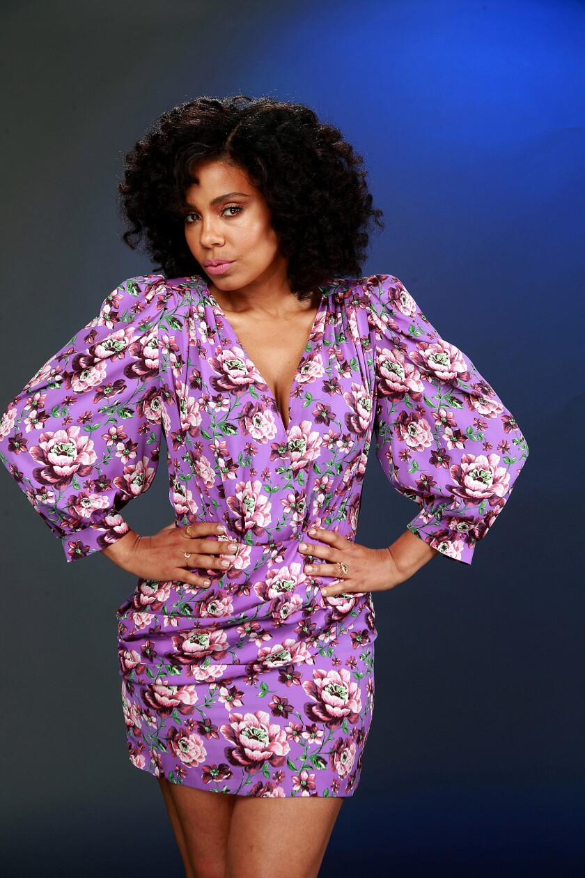 """Sanaa Lathan from the New CBS All-Access """" The Twilight Zone."""""""