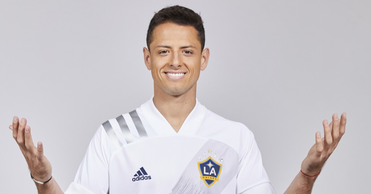 Column: Javier 'Chicharito' Hernández says he's in 'right place at right time' as Galaxy's brightest star