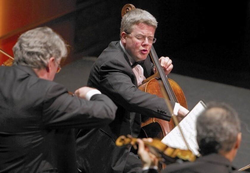 Review: Emerson String Quartet shows off new face with Beethoven