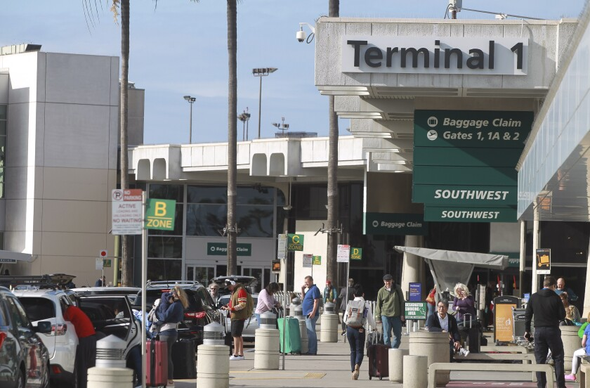 Terminal 1 at the San Diego International Airport on Thursday, January 9, 2020.