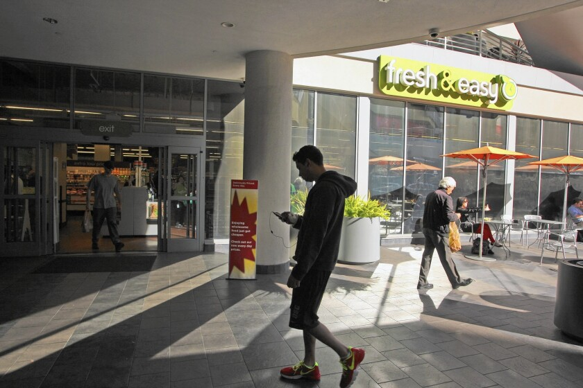 Fresh & Easy's fade-out comes as competition increases for local shoppers' food dollars. Above, a store in Hollywood in 2013.