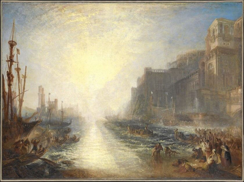 Review: J.M.W. Turner exhibit at J. Paul Getty Museum tosses convention