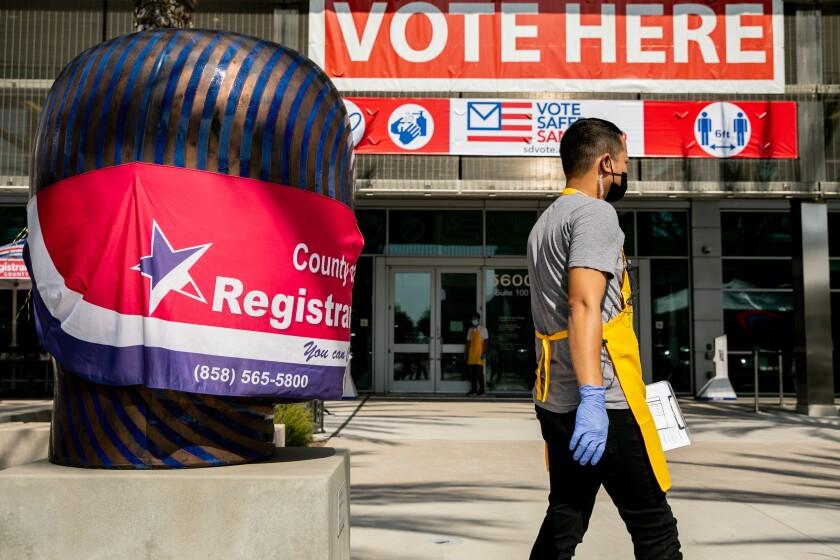 San Diego County Registrar of Voters in San Diego