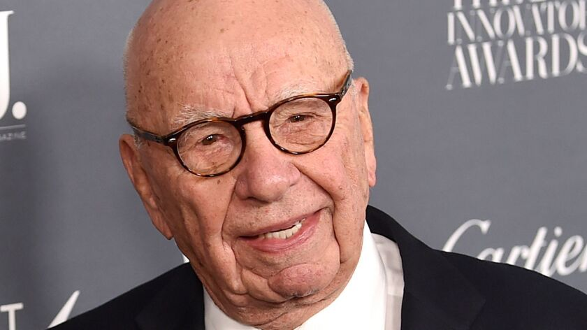Rupert Murdoch and his family control 21st Century Fox and News Corp.