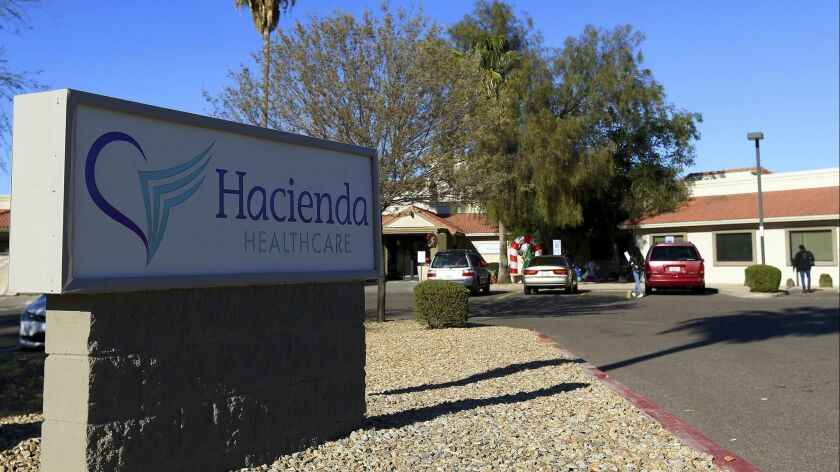 The 29-year-old victim has been incapacitated since the age of 3. She gave birth last month at the Hacienda HealthCare facility in Phoenix.