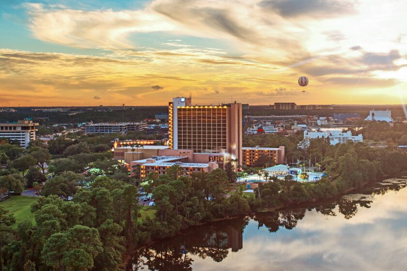 """The Wyndham Lake Buena Vista Resort is among seven hotels near Walt Disney World in Florida that are offering special """"First Responders"""" and """"Teacher Appreciation"""" rates this summer."""