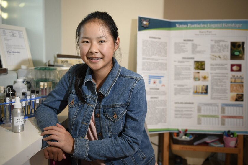 Local Teen Earns National Young Scientist Award The San Diego Union Tribune
