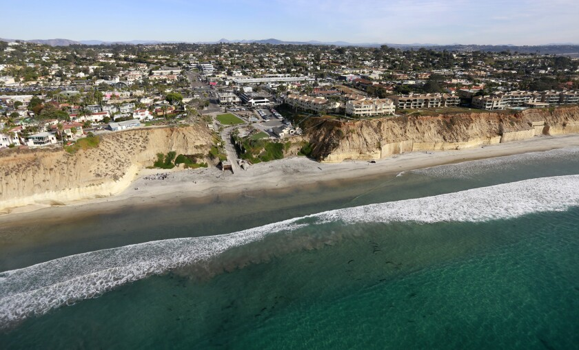 Aerial view of Solana Beach