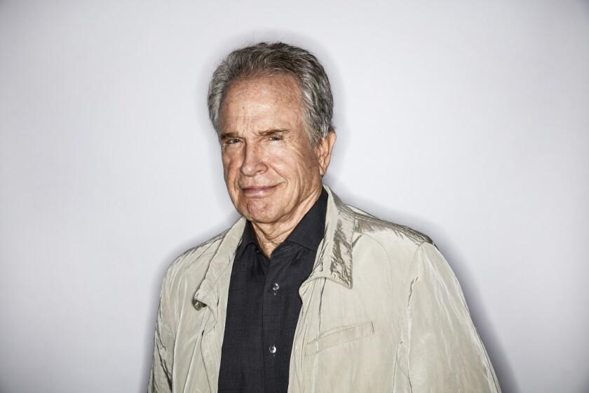 Academy Award-winning director, producer, writer and actor Warren Beatty.