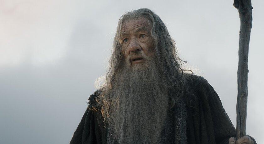 """Ian McKellen in """"The Hobbit"""""""