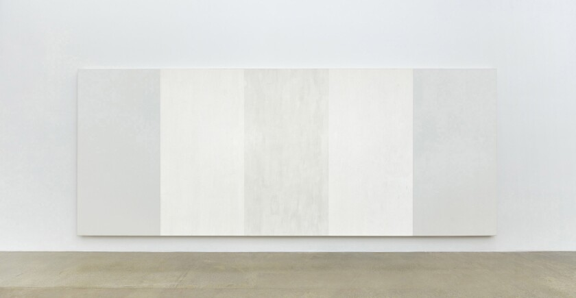 "Mary Corse, ""Untitled (White Inner Band)"" at LACMA"