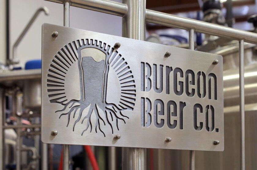 Burgeon Beer Company in Carlsbad.