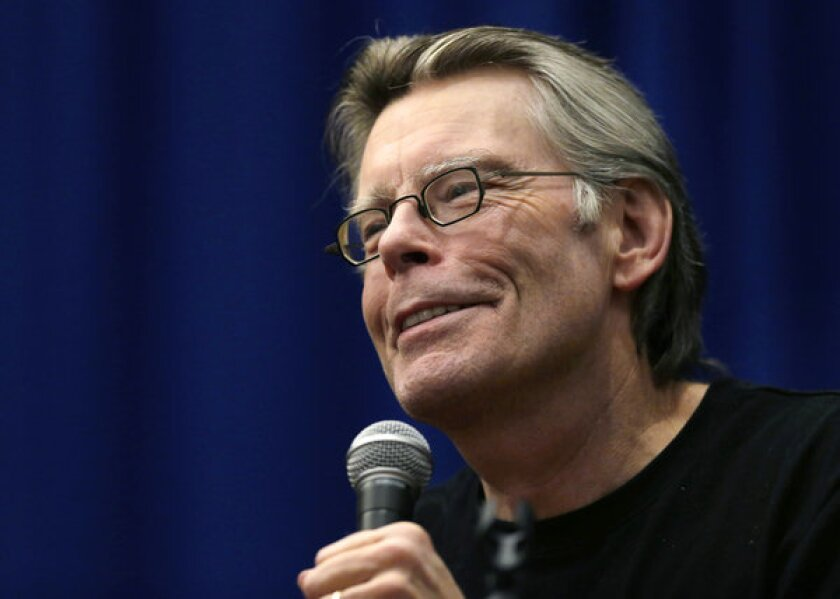 Author Stephen King and his wife want to help their library in Bangor, Maine.
