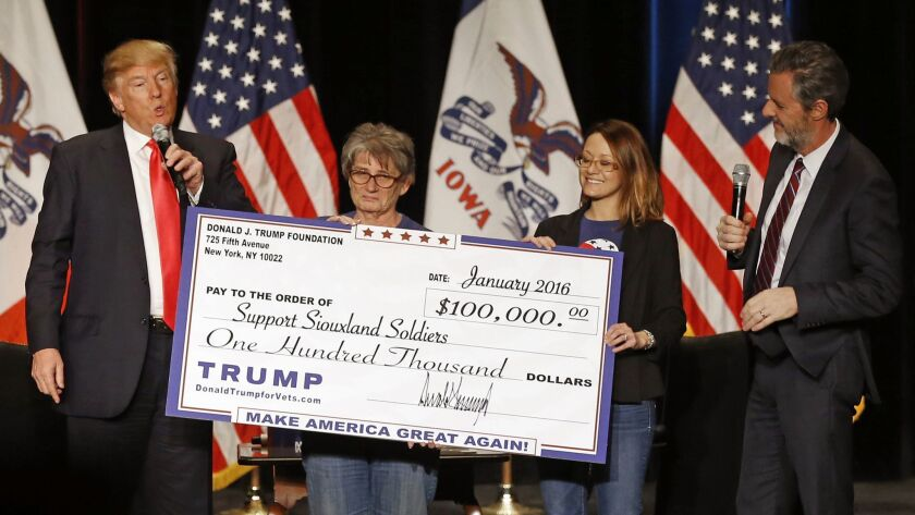Donald Trump, Jerry Falwell Jr