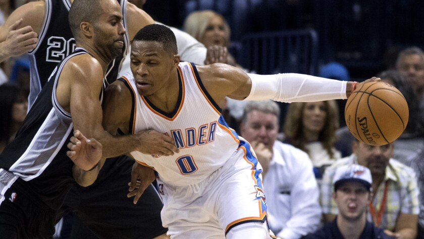 Thunder's Billy Donovan wins in NBA coaching debut over the Spurs