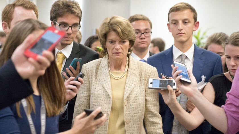 Murkowski confirms Zinke call over health care vote, but says she's not worried