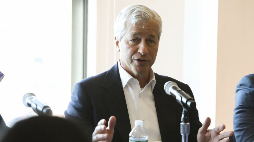 Would-be healthcare reformer Jamie Dimon: Already spinning his wheels?