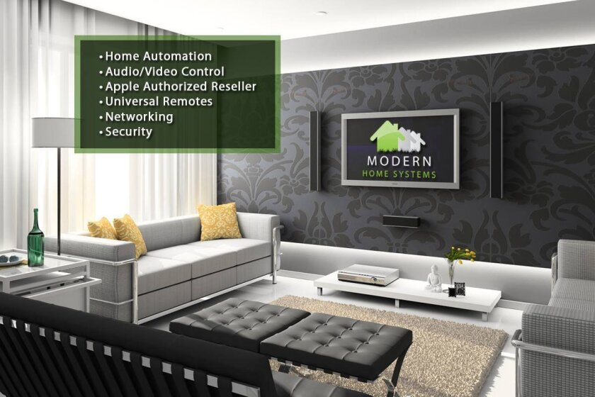 Modern Home Systems (with showroom locations in San Diego and Rancho Santa Fe) specializes in custom home theaters and residential automation.