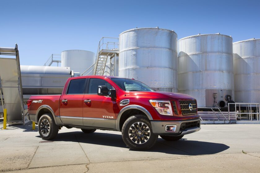 The 2017 TITAN half-ton builds on the foundation of design innovation established by the original Titan full-size pickup, including bed and cab features that are now industry standard, and the rugged workhorse sensibility of the new TITAN XD.