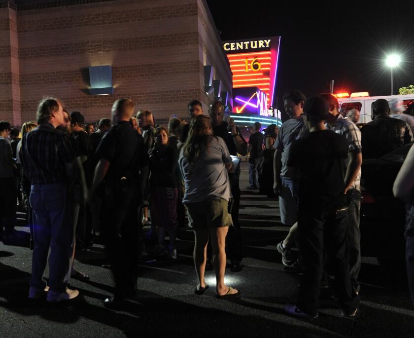 Colorado shooting: Chaos, horror, then sorrow on social media