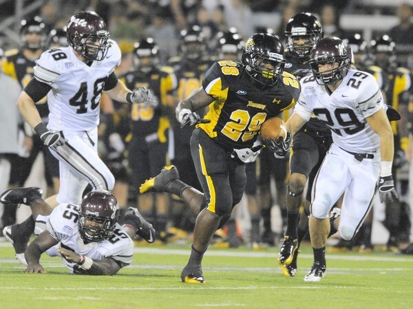 Towson University football has one of the greatest turnarounds in the college game. A 9-3 record and first-ever NCAA Football Championship Subdivision playoff appearance gets students and alumni excited about the program again -- and even causes traffic jams on Osler Drive!