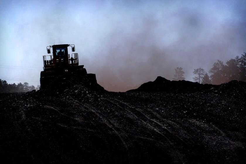 Montana coal mine