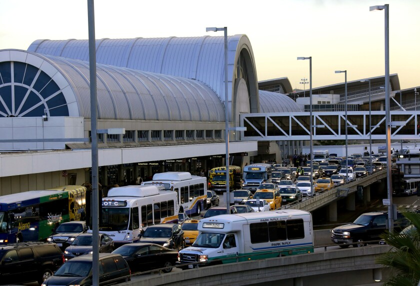 A system outage at U.S. Customs and Border Protection on Friday affected airlines nationwide, including LAX.