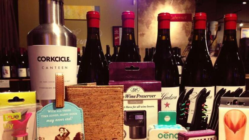 Not sure what to buy for the wine lover in your life? Buy him or her a useful, fun or frivolous wine gift, like any of these from the WineSellar & Brasserie. (Courtest photo)