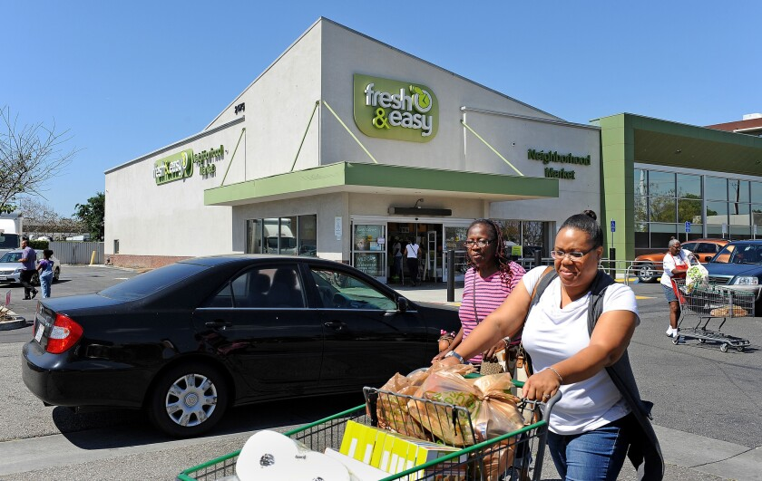 Fresh & Easy is closing down its business.