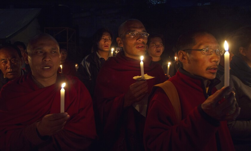 China seeks to halt Tibetan self-immolations