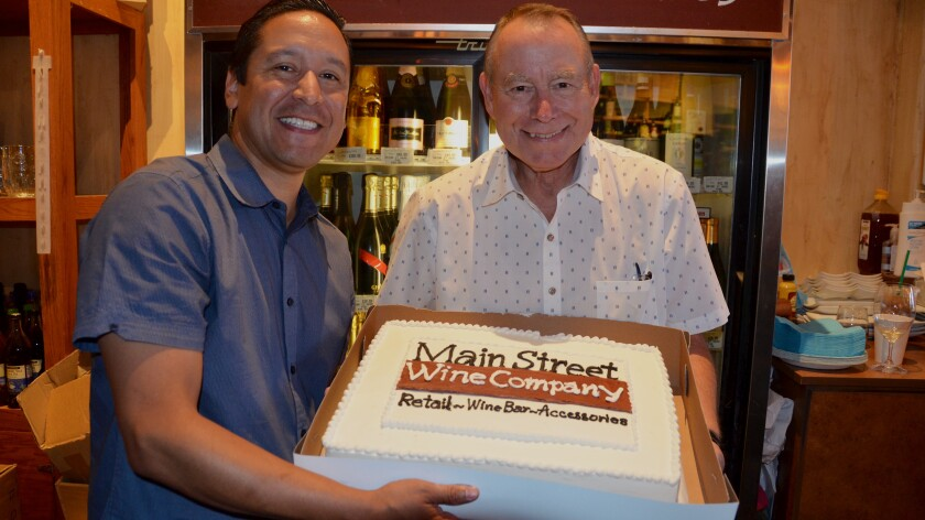Main Street Winery's 10th anniversary