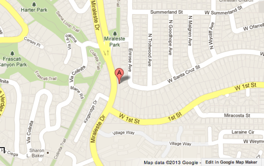 Body found inside burning vehicle in Rancho Palos Verdes