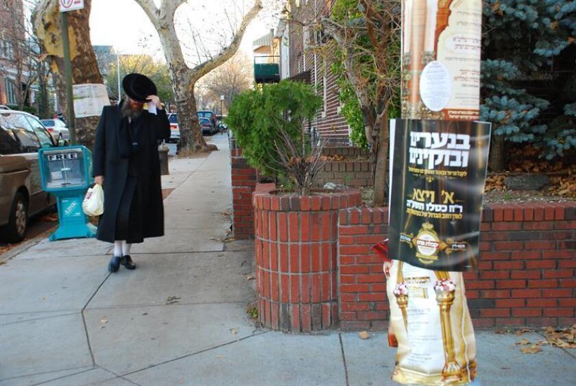 La policía de Aventura (Florida) informó hoy de la detención de un sospechoso de proferir amenazas y comentarios antisemitas contra instituciones y negocios de la comunidad judía de esa ciudad situada al norte de Miami. EFE/Archivo