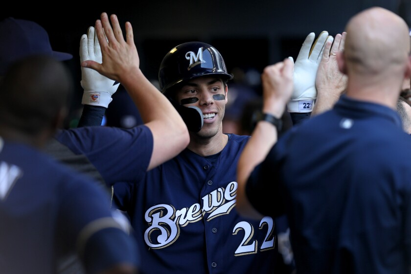 Milwaukee Brewers slugger Christian Yelich has plenty of performance bonus clauses in his contract extension.
