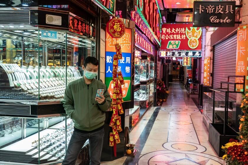 Concern in Macau as Coronavirus spreads