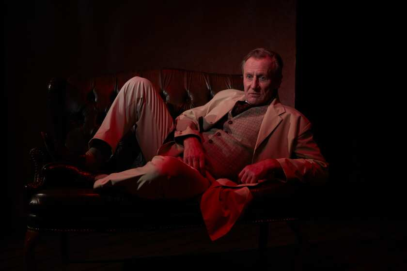 """Daniel Gerroll stars in North Coast Repertory Theatre's filmed solo play """"Dr. Glas,"""" which opens for streaming on July 21."""