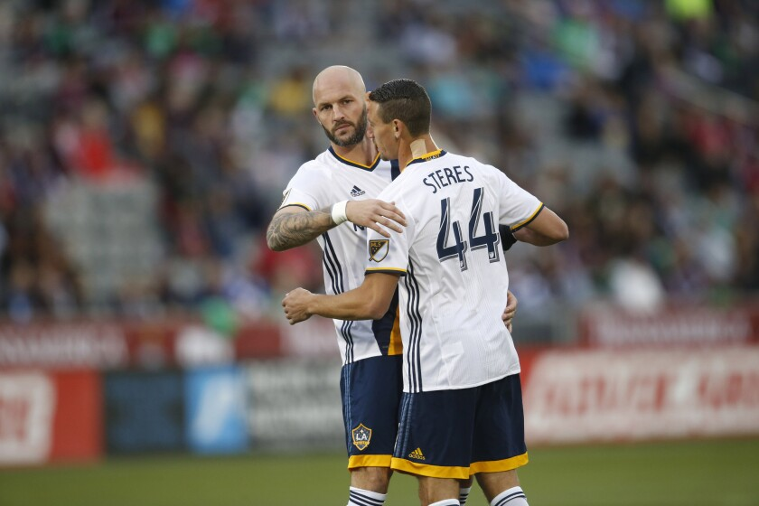 Galaxy's Daniel Steres has seen MLS highs and lows