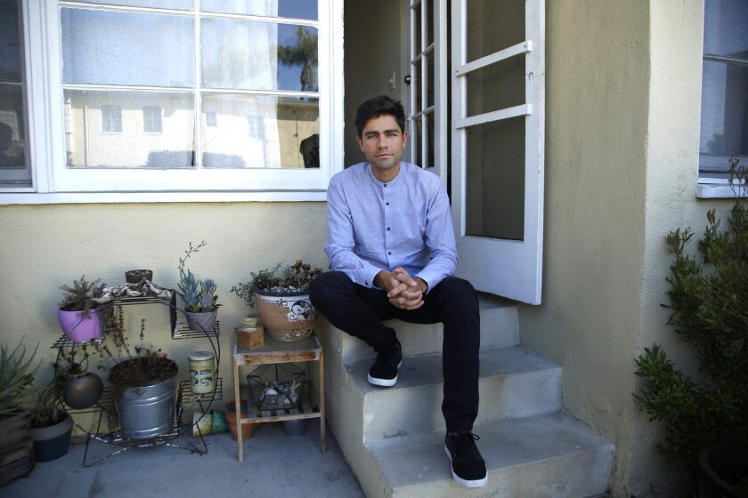 Adrian Grenier, actor, filmmaker and co-founder of the Lonely Whale Foundation.