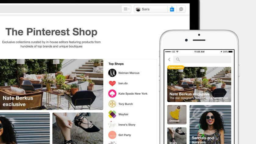 Pinterest is rolling out a new shopping experience that uses visual search technology to help users find products.