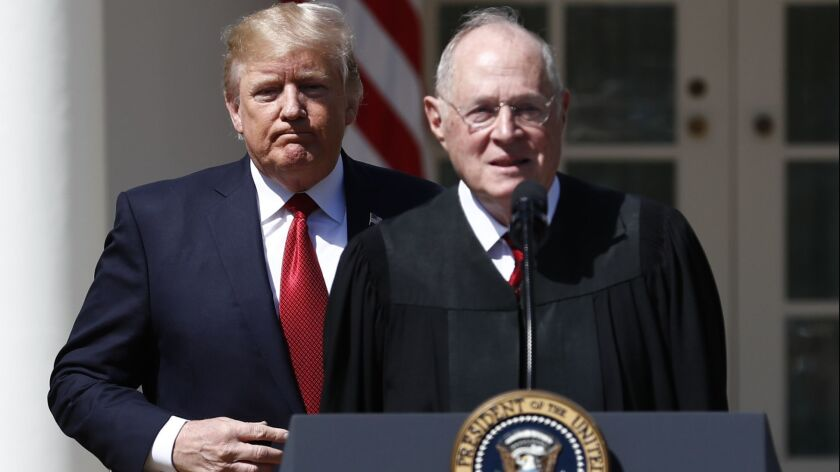 Donald Trump, Anthony Kennedy
